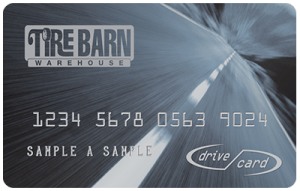 tire barn drive card